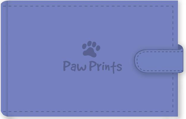 Pawprints Photo Album By Peter Pauper Press Inc. (COR)